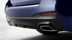 BMW Serie 5 2020 Sedan: gli scarichi trapezoidali