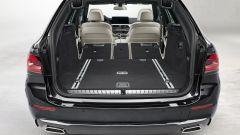 BMW Serie 5 2020 Touring: l'interno del bagagliaio