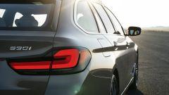 BMW Serie 5 2020 Touring: nuovi gruppi ottici posteriori anche per la station