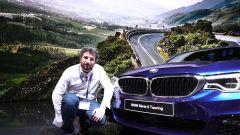 BMW Serie 5 Touring: in video dal Salone di Ginevra 2017 - Immagine: 1