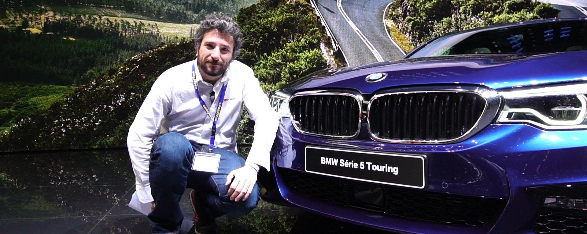 BMW Serie 5 Touring al Salone di Ginevra 2017