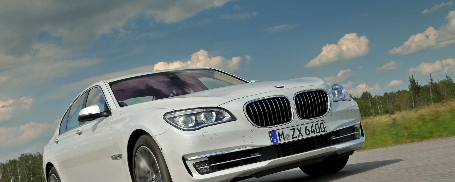 BMW Serie 7 2013, nuove immagini