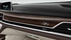 BMW Serie 7 Edition 40: dettaglio della plancia