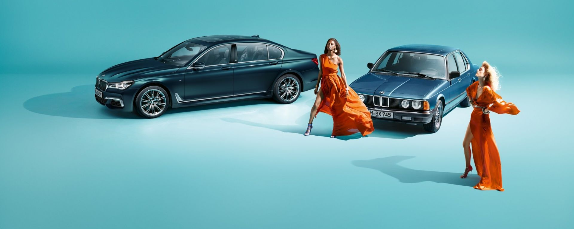 BMW Serie 7 Edition 40 in colore Petrol Mica
