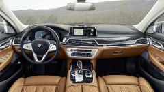 BMW Serie 7: gli interni