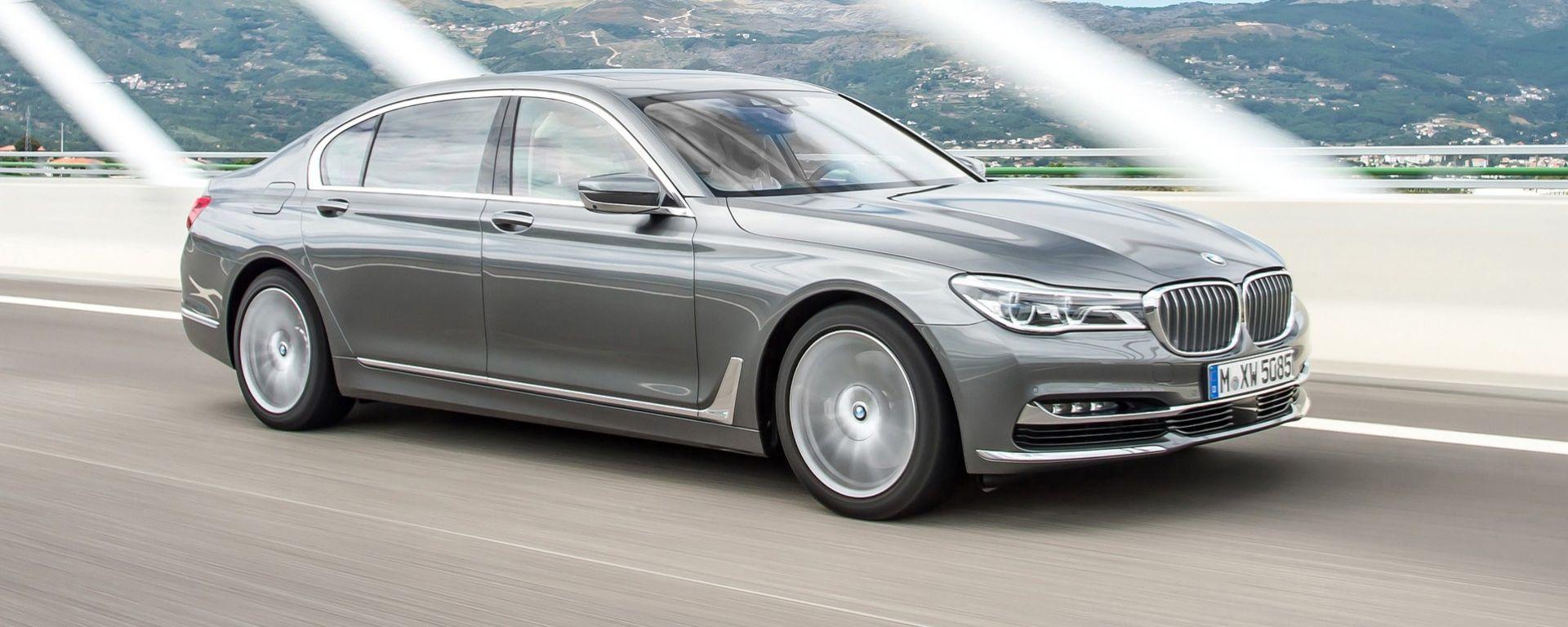 BMW Serie 7: sarà lei la prima a montare il nuovo quadri-turbo da 400 cv e 760 Nm di coppia