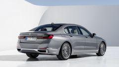 BMW Serie 7: vista 3/4 posteriore