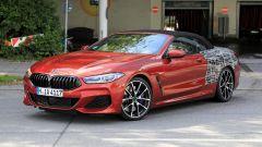 BMW Serie 8 Cabrio, proseguono i test in vista del debutto. Nel 2019