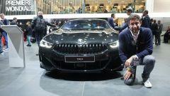 BMW Serie 8 Coupé, Salone di Parigi 2018