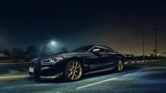 BMW Serie 8 Golden Thuder Edition: una versione speciale in nero e oro