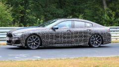 BMW Serie 8 Gran Coupé, foto spia al Nurburgring