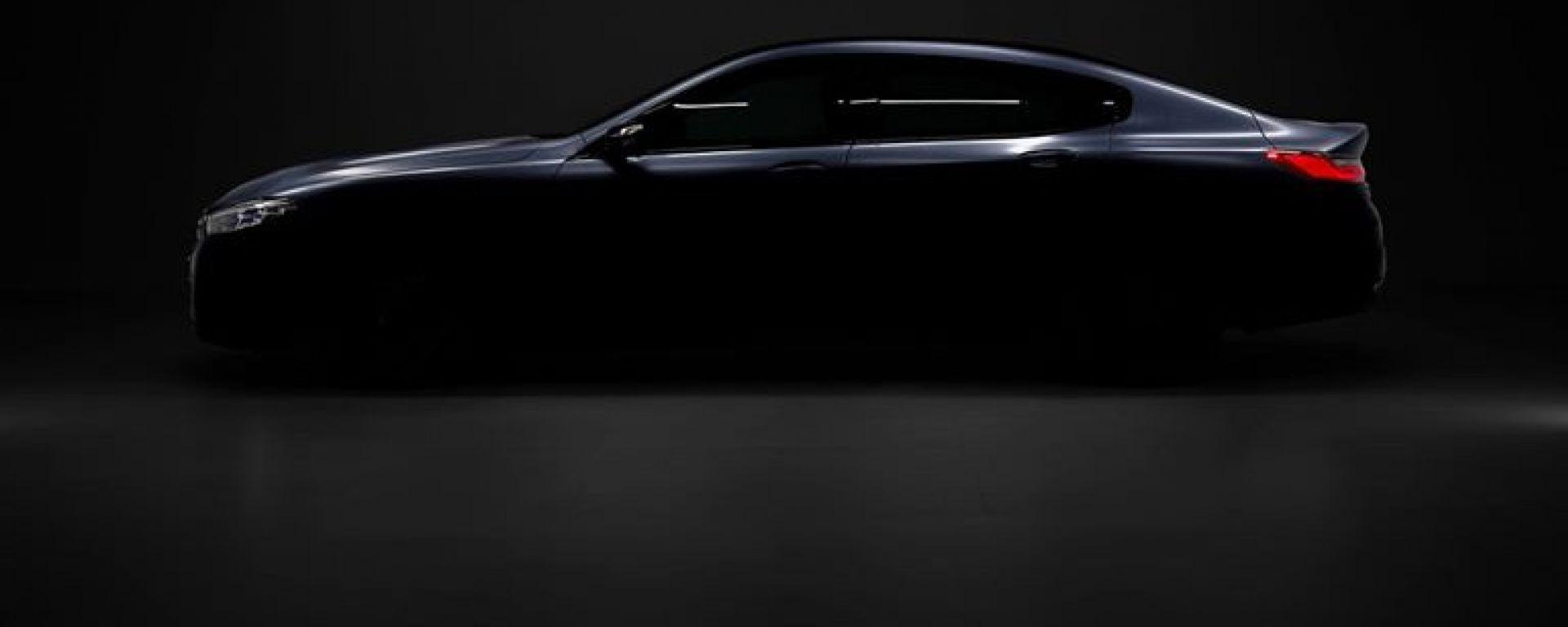 BMW Serie 8 Gran Coupé, la silhouette