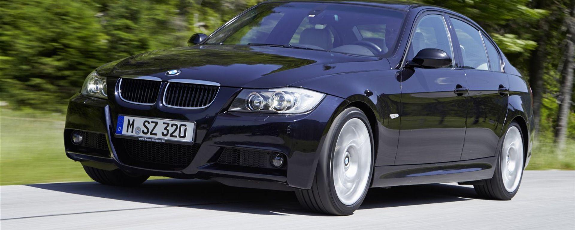 BMW Serie3 , vecchia generazione a rischio incendio