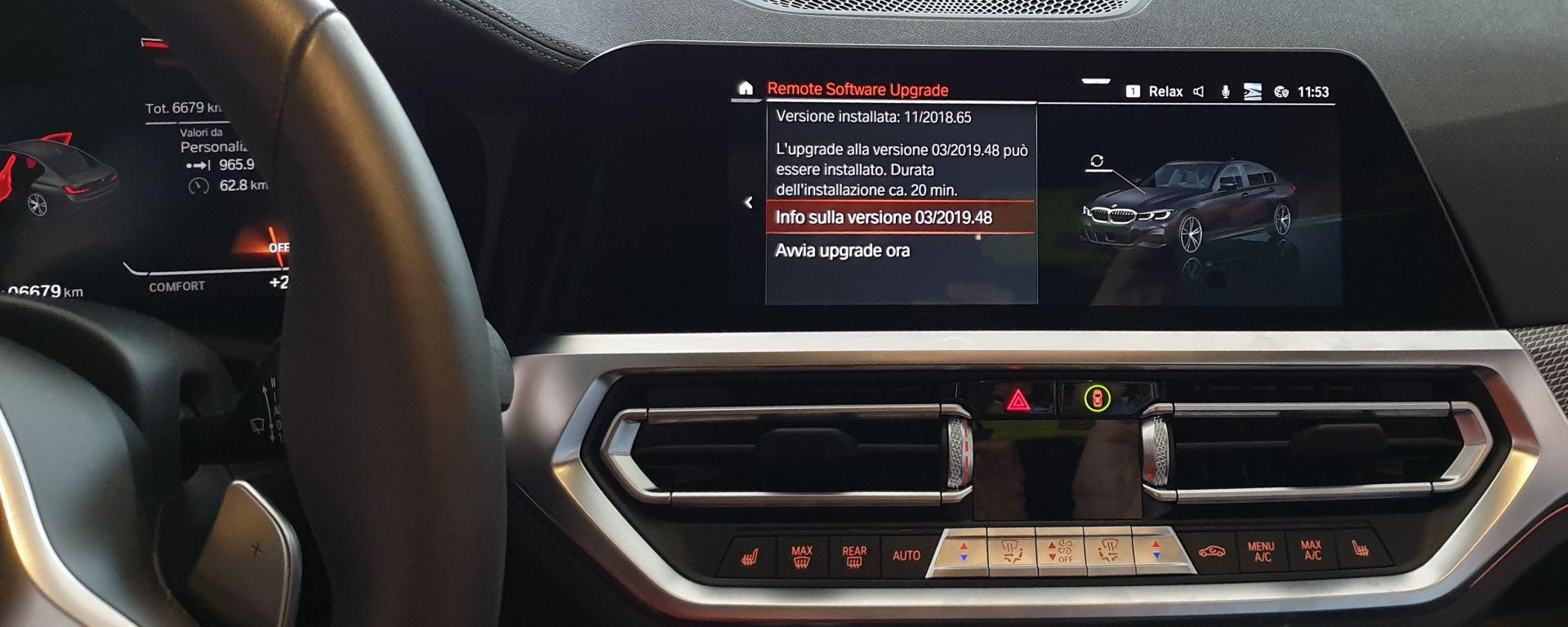BMW Remote Sofware Update, da estate 2019 aggiornamento OTA