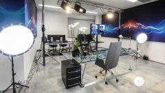 BMW Technology Innovation Experience: la sala di ripresa del Digital Learning