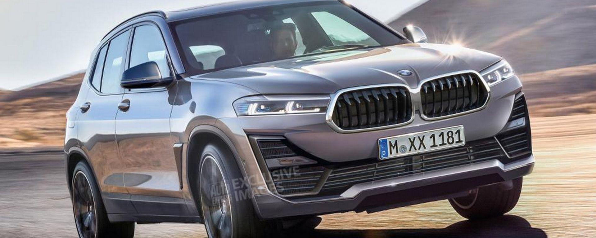 BMW Urban X Crossover, il render di Auto Express