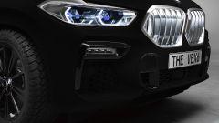 BMW VBX6: la BMW X6 2020 Vantablack, dettaglio del frontale