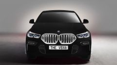 BMW VBX6: la BMW X6 2020 Vantablack, vista frontale