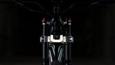 BMW Vision Amby: la luce anteriore a forma di U