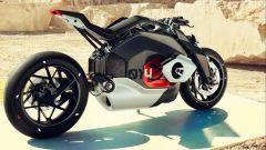 BMW Vision DC Roadster, la 2 ruote elettrica secondo l'Elica - Immagine: 13