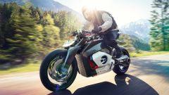 BMW Vision DC Roadster: una immagine in movimento della elettrica tedesca