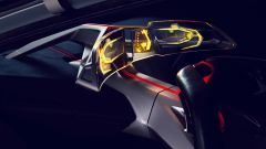 BMW Vision M NEXT le elettroniche