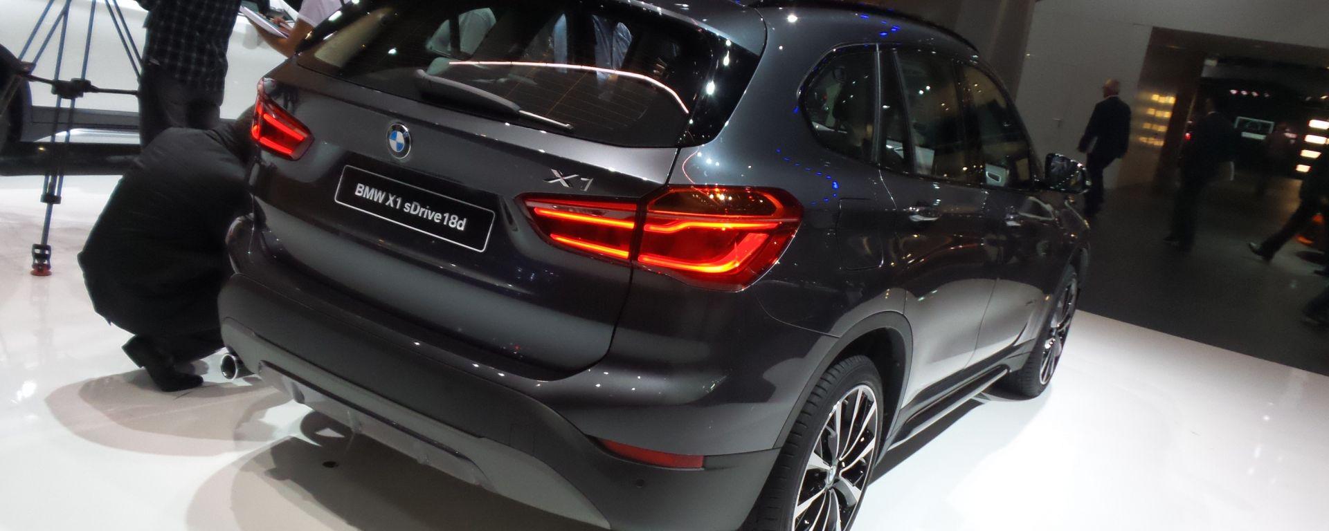 BMW X1 2015: foto LIVE e info