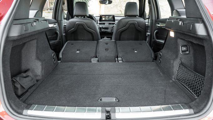 BMW X1 2019, la massima capacità di carico