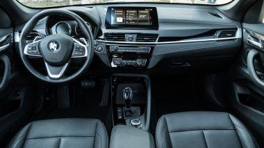 BMW X1: l'abitacolo