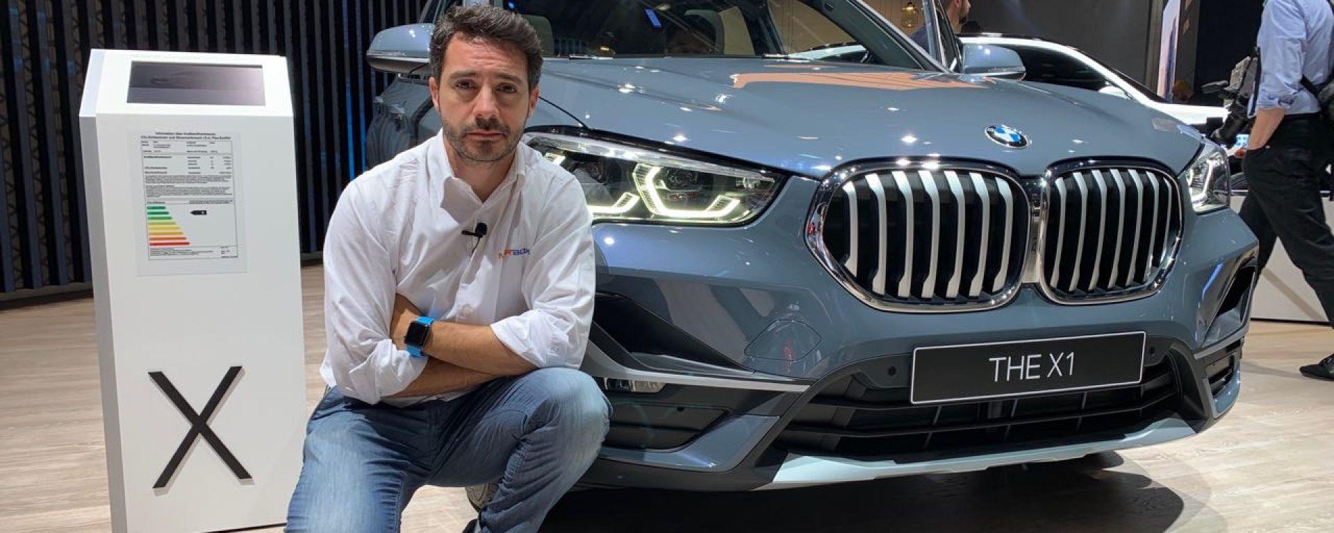 BMW X1 restyling al Salone di Francoforte 2019