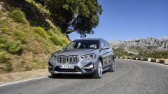 BMW X1 Restyling: vista 3/4 anteriore