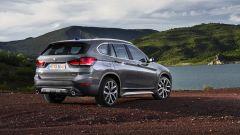 BMW X1 Restyling: vista 3/4 posteriore