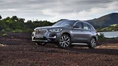 BMW X1 Restyling: vista frontale