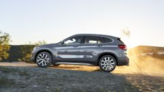 BMW X1 Restyling: vista laterale