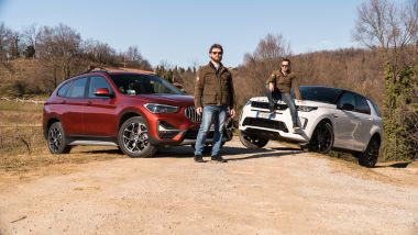 BMW X1 vs Land Rover Discovery Sport