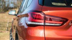BMW X1 xDrive20d, dettaglio del gruppo ottico posteriore