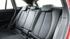 BMW X1 xDrive20d: il divanetto posteriore