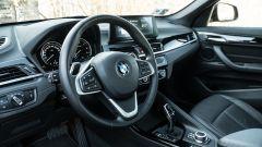 BMW X1 xDrive20d, il volante
