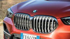 BMW X1 xDrive20d: la presa d'aria si apre e si chiude per ottimizzare raffreddamento e aerodinamica