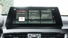 BMW X1 xDrive20d, lo schermo dell'infotainment