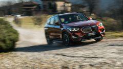 BMW X1 xDrive20d, un momento del test drive