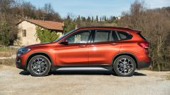 BMW X1 xDrive20d, vista laterale