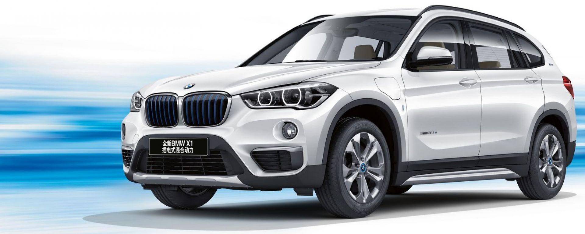 BMW X1 xDrive25Le iPerformance: debutta in Cina la X1 ibrida plug-in