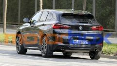 BMW X2 2021: visuale posteriore