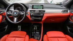 BMW X2: gli interni