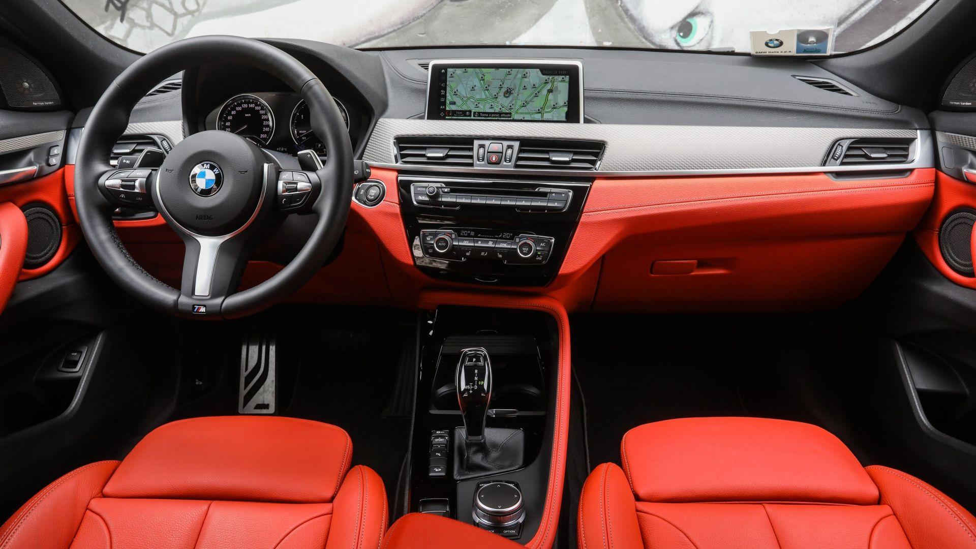 BMW 750 For Sale >> BMW X2 xDrive20d Msport: prova, dimensioni, interni ...