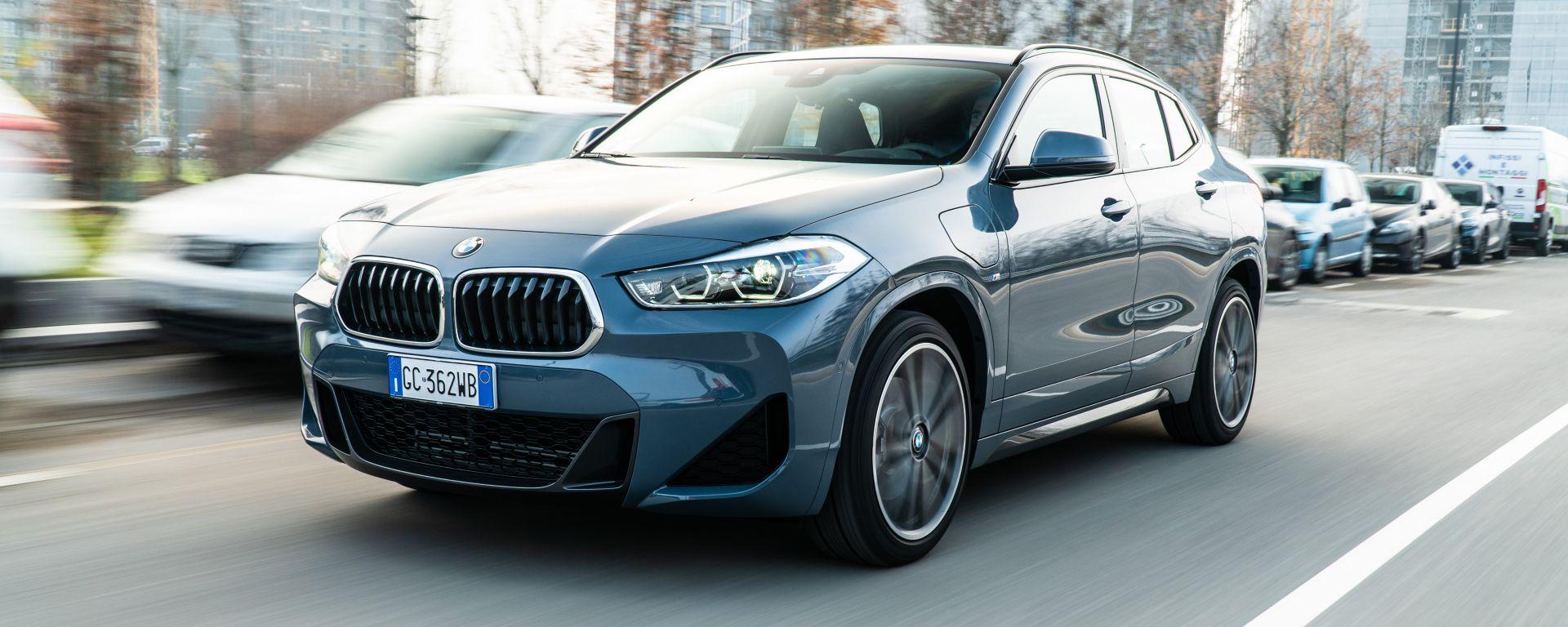 BMW X2 xDrive 25e: la prova dell'ibrido plug-in che sfida il diesel