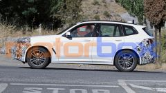 BMW X3 2021: visuale laterale