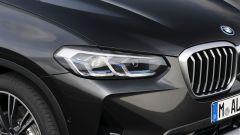 BMW X3 2022 facelift: i nuovi gruppi ottici