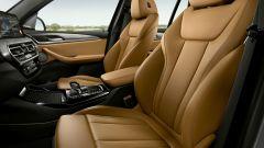 BMW X3 2022 facelift: i sedili
